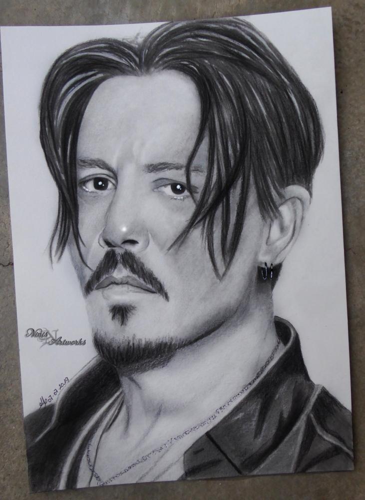 Johnny Depp by Ninis
